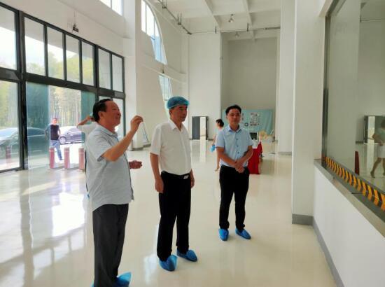 省委常委、六安市委书记孙云飞视察天地精华六安生产基地